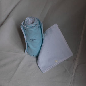 Blue Sharks Toilet Cloth Towels