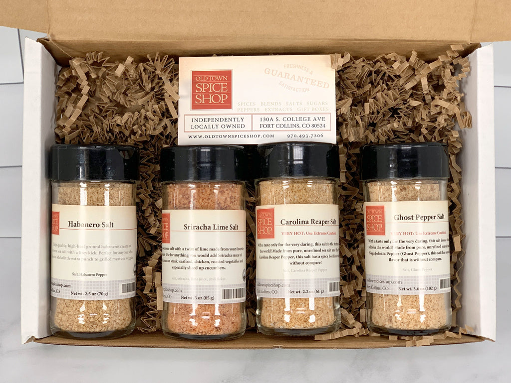 Spicy Salts Gift Box/Gift Bag
