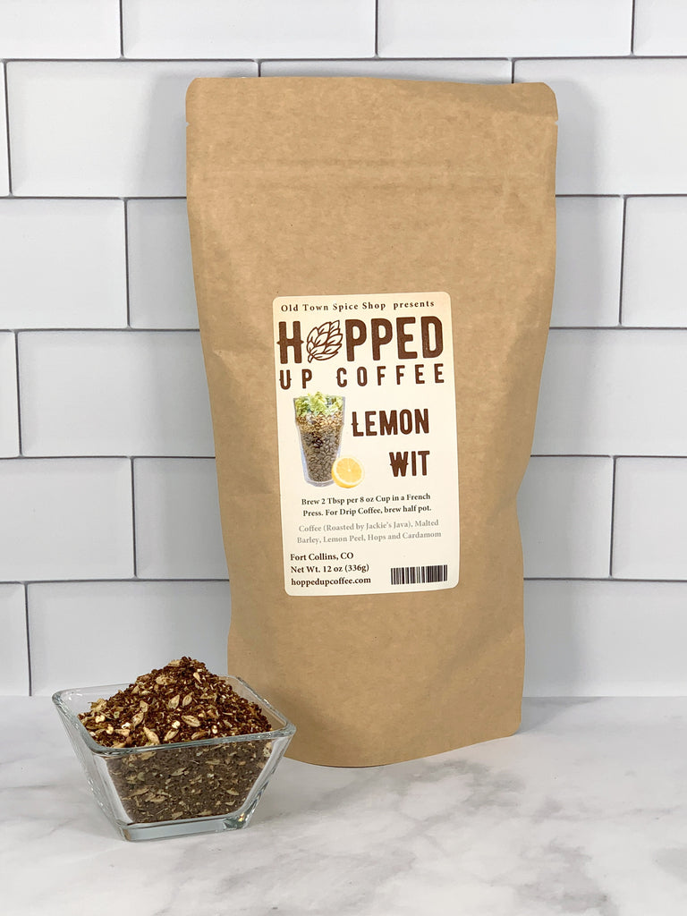 Lemon Wit - Hopped Up Coffee
