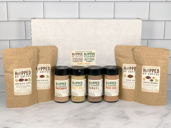 Hopped Up Coffee & Seasonings Gift Box