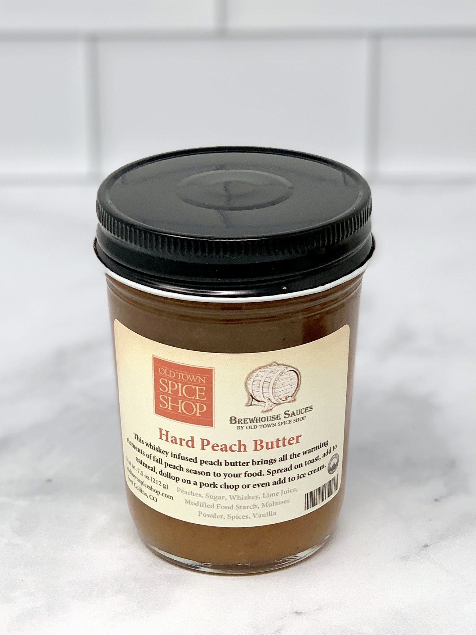 Hard Peach Butter