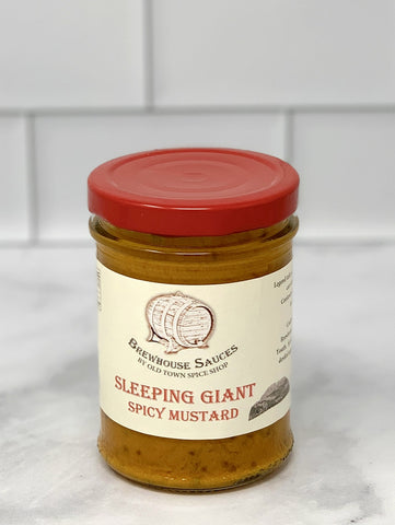 Sleeping Giant Spicy Mustard