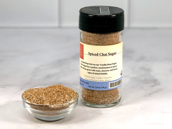 Spiced Chai Sugar