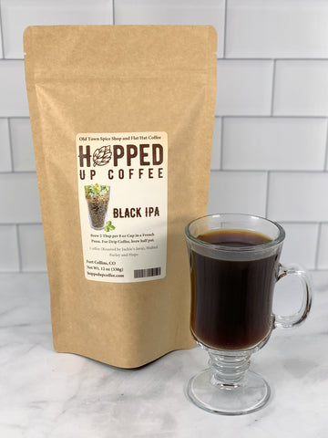 Black IPA Coffee - Hopped Up Coffee