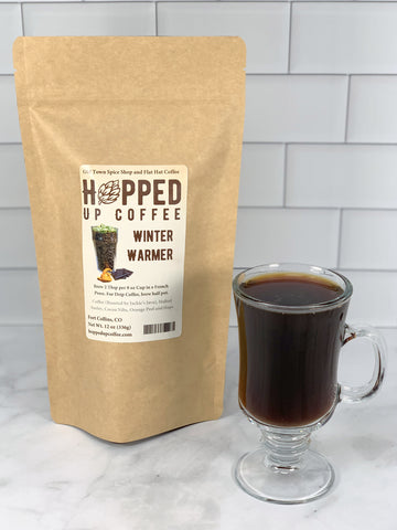 Winter Warmer Coffee - Hopped Up Coffee
