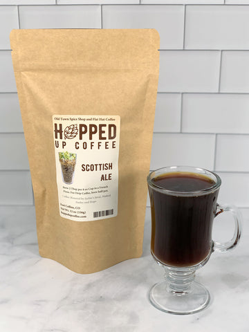 Scottish Ale Coffee - Hopped Up Coffee