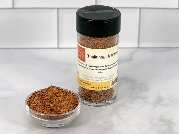 Traditional Hamburger Seasoning