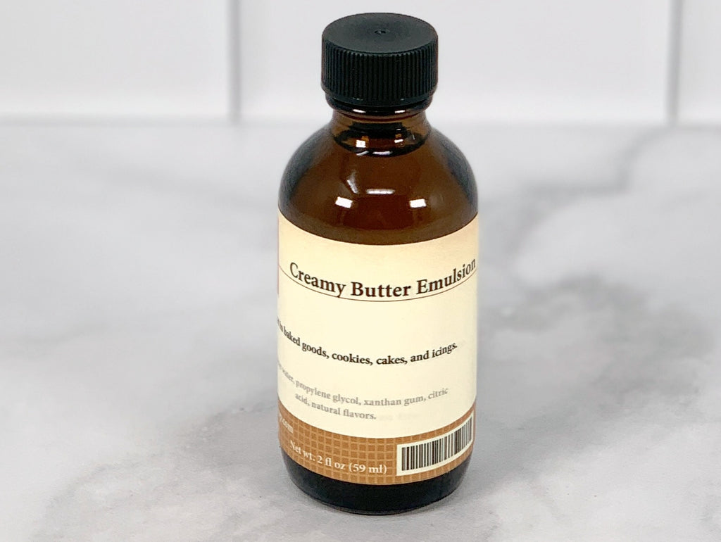 Creamy Butter Emulsion