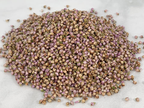 Heather Flowers (Rubbed)