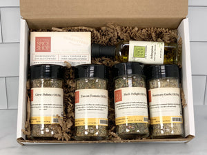 Olive Oil Dips Gift Bag/Gift Box