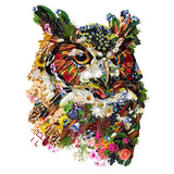 Vegan Owl | Large, Organic, Double-Sided - FacePlant Tees