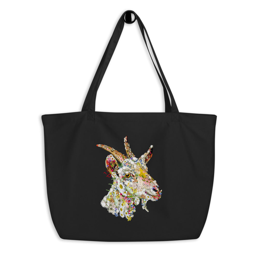 The Goat Tote | Large, Vegan, Organic, - FacePlant Tees