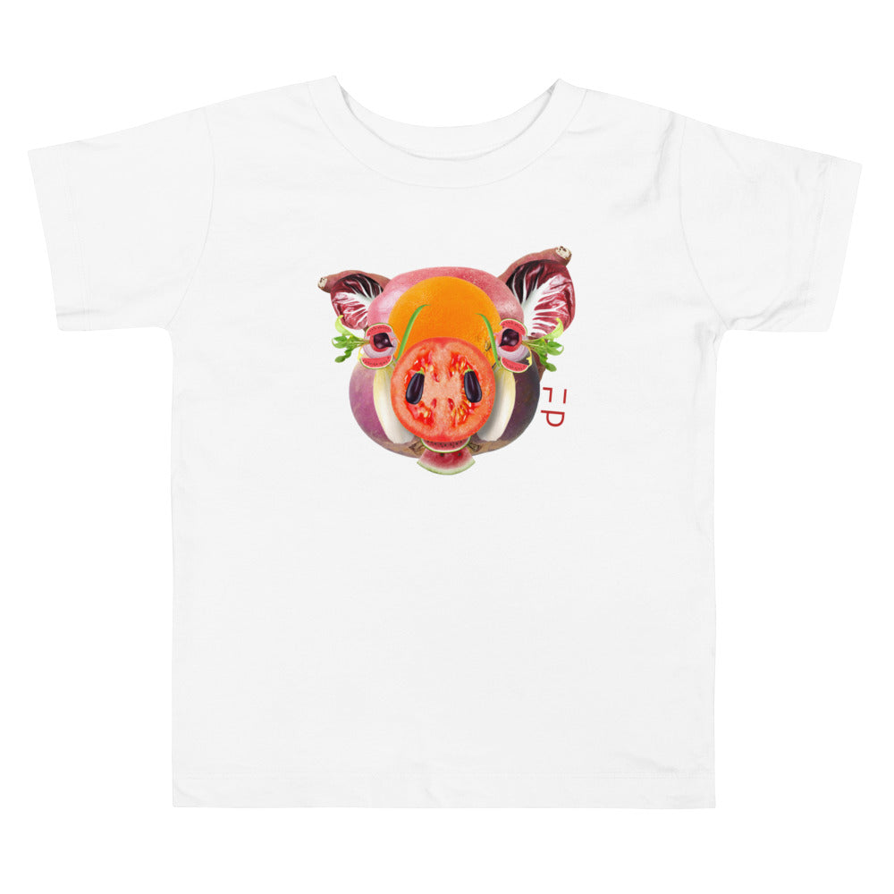 Little Piggy | Toddler Tee - FacePlant Tees
