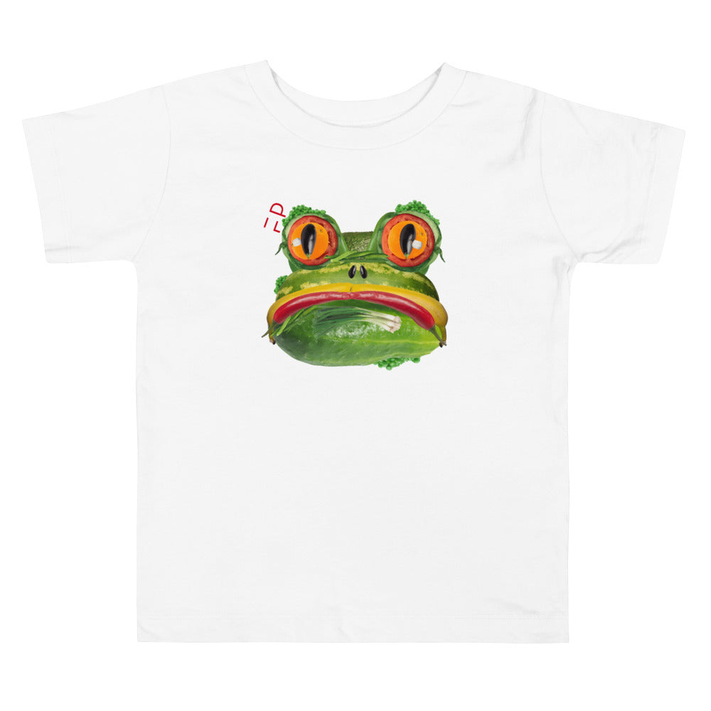 Little Frog | Toddler Tee - Faceplant