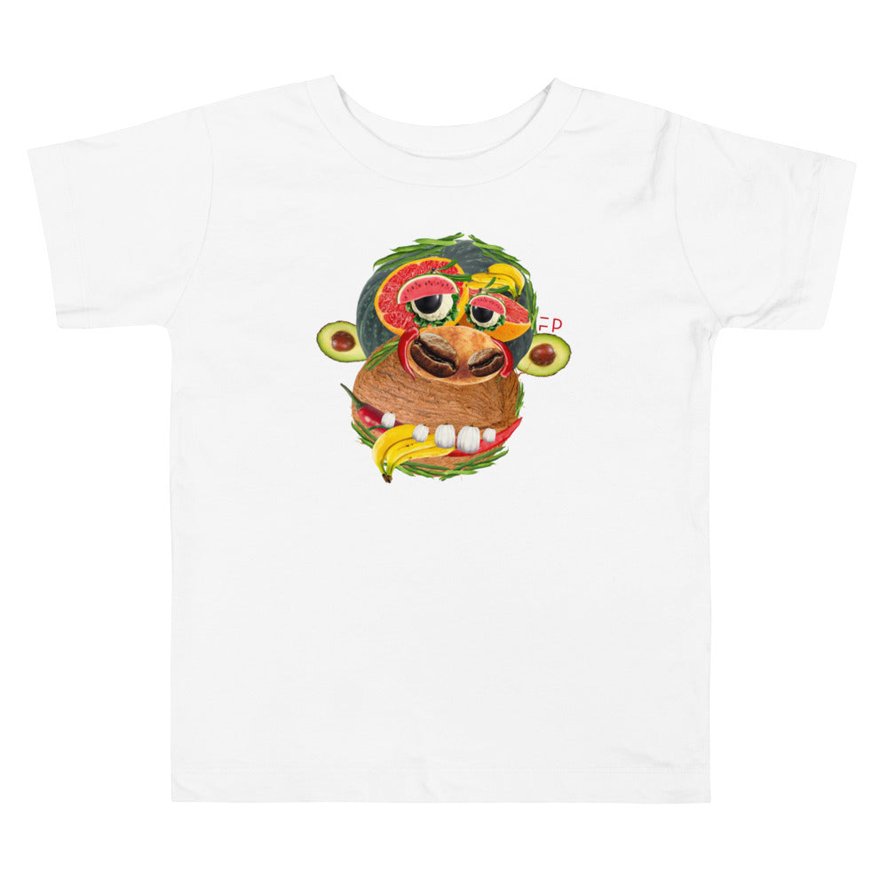 Little Monkey | Toddler Tee - Faceplant