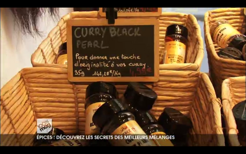 Curry Black Pearl vu à la télé, M6 émission 100% mag