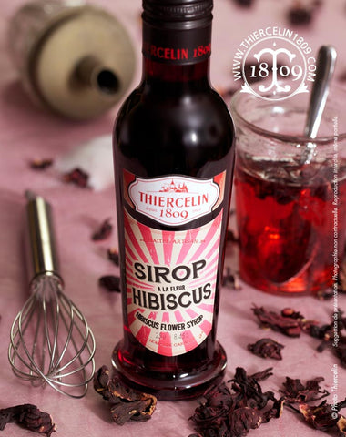 Sirop d'hibiscus - Thiercelin