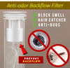 Anti-odor Backflow Filter
