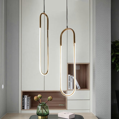 Long Hanging U Light Style