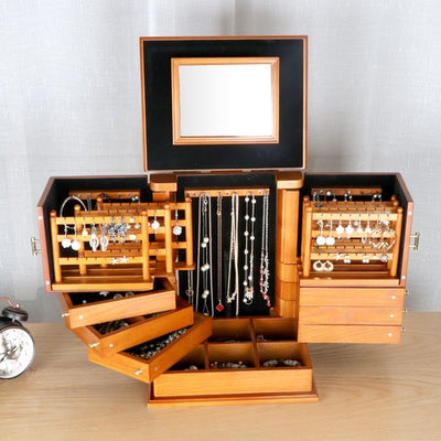 New European-style Wooden Jewelry Storage