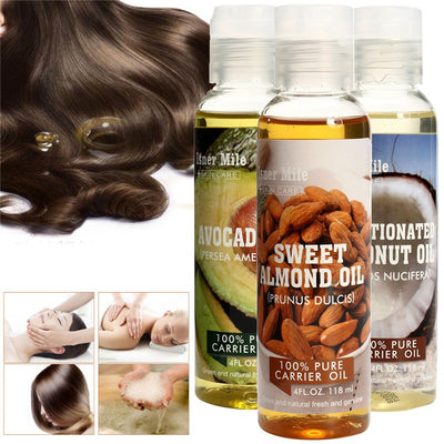 100% Pure Natural Oil Hair Care