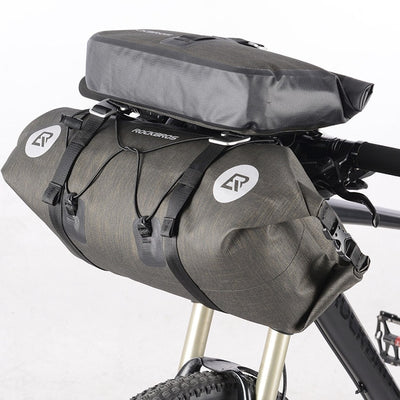 2 in 1 Set Waterproof Bike Front Pannier Bag Set