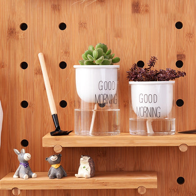 Automatic Watering Ceramic Planter Pot