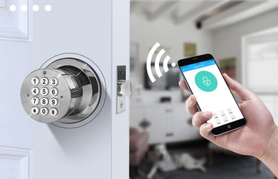 Electronic Door Lock with Smart Bluetooth Keyless