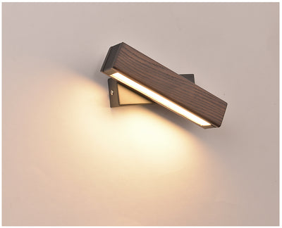 Wooden Rotated LED Lamp