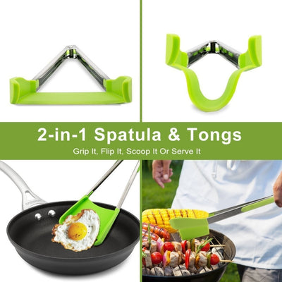 2 in 1 Spatula and Tongs Kitchenaid
