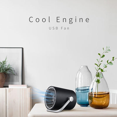 Touch Control USB Cooler Mini Fan