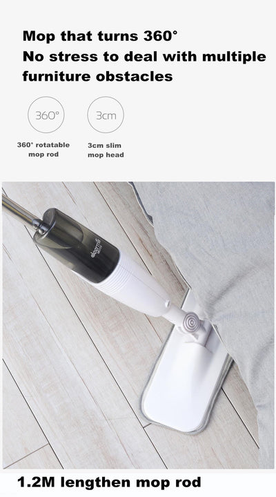 Water Spray Cleaning Mop