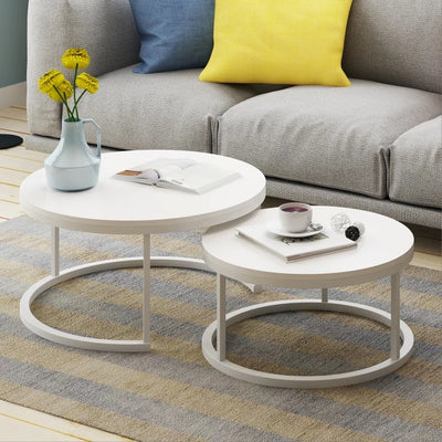 Modern Round Coffee Table Set