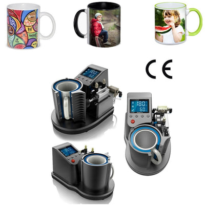Thermal Pneumatic Mug 2D Digital Printing Machine