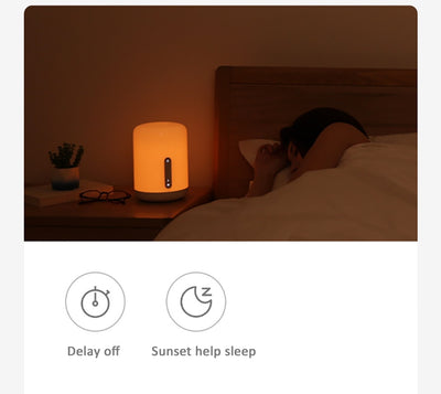 Smart LED Bedside Lamp