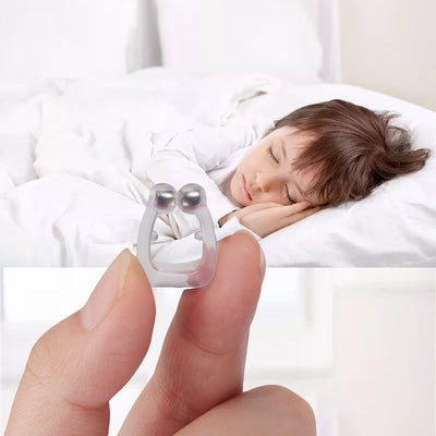 Magnetic Silicone Anti Snore Nose Clip