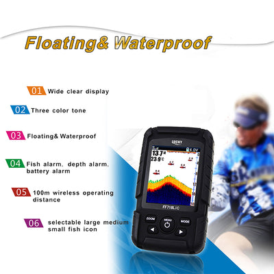 Portable Sonar Fishing Wireless Sensor