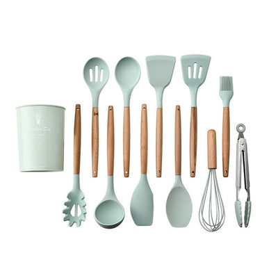 Silicone Kitchen Tools Premium Set