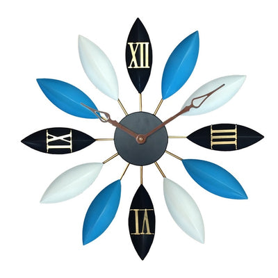 Mediterranean Leaf Spoke Clock