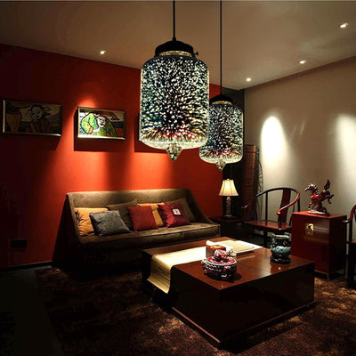 Modern Nordic 3D Decor Hanging Lamp