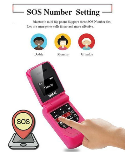 Mini Flip Mobile Phone