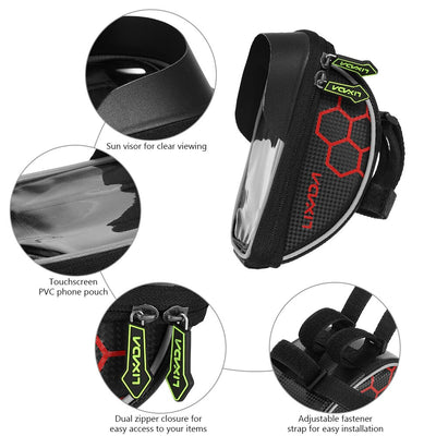 Bicycle Pannier Smartphone & GPS Touch Screen Case