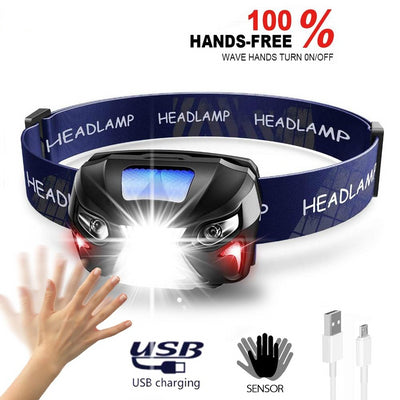 Super Powerfull LED Headlamp, 10000LM