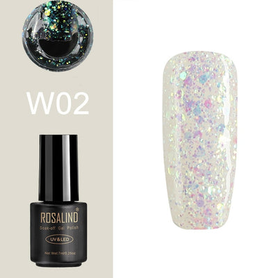 UV LED Gel Nail Polish Art Design Color