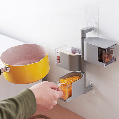 Creative Kitchen Utensils Shelf