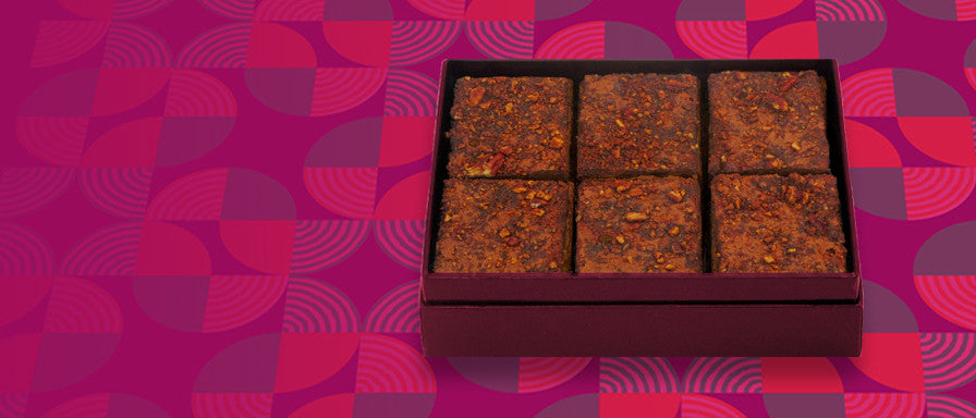 Pecan Caramel Brownie Gift Box