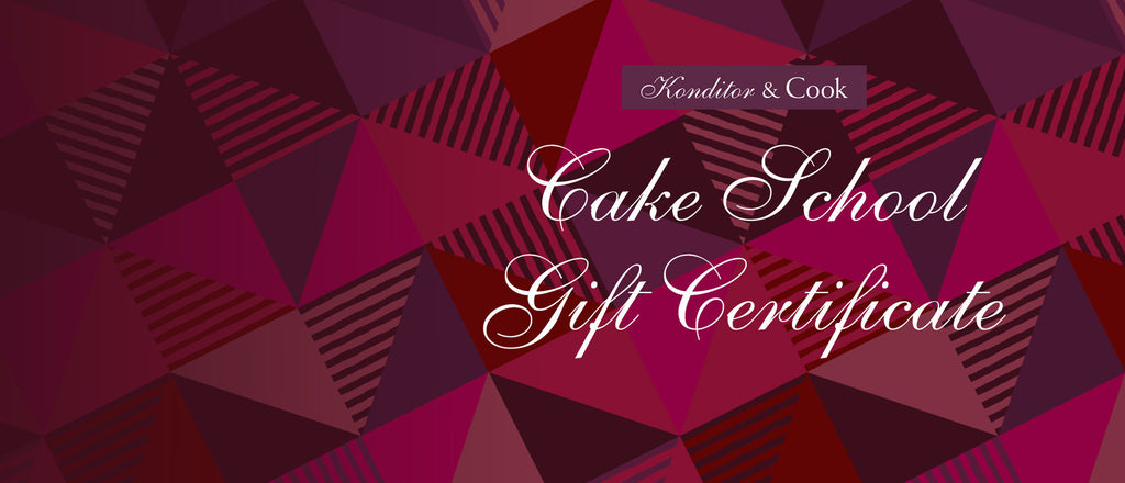 Boozy Bakes Class Gift Certificate · £65