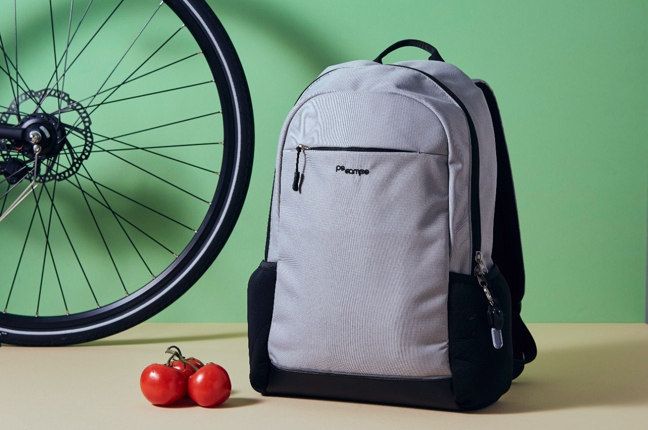 Ride2Work with the new Irving Backpack Pannier