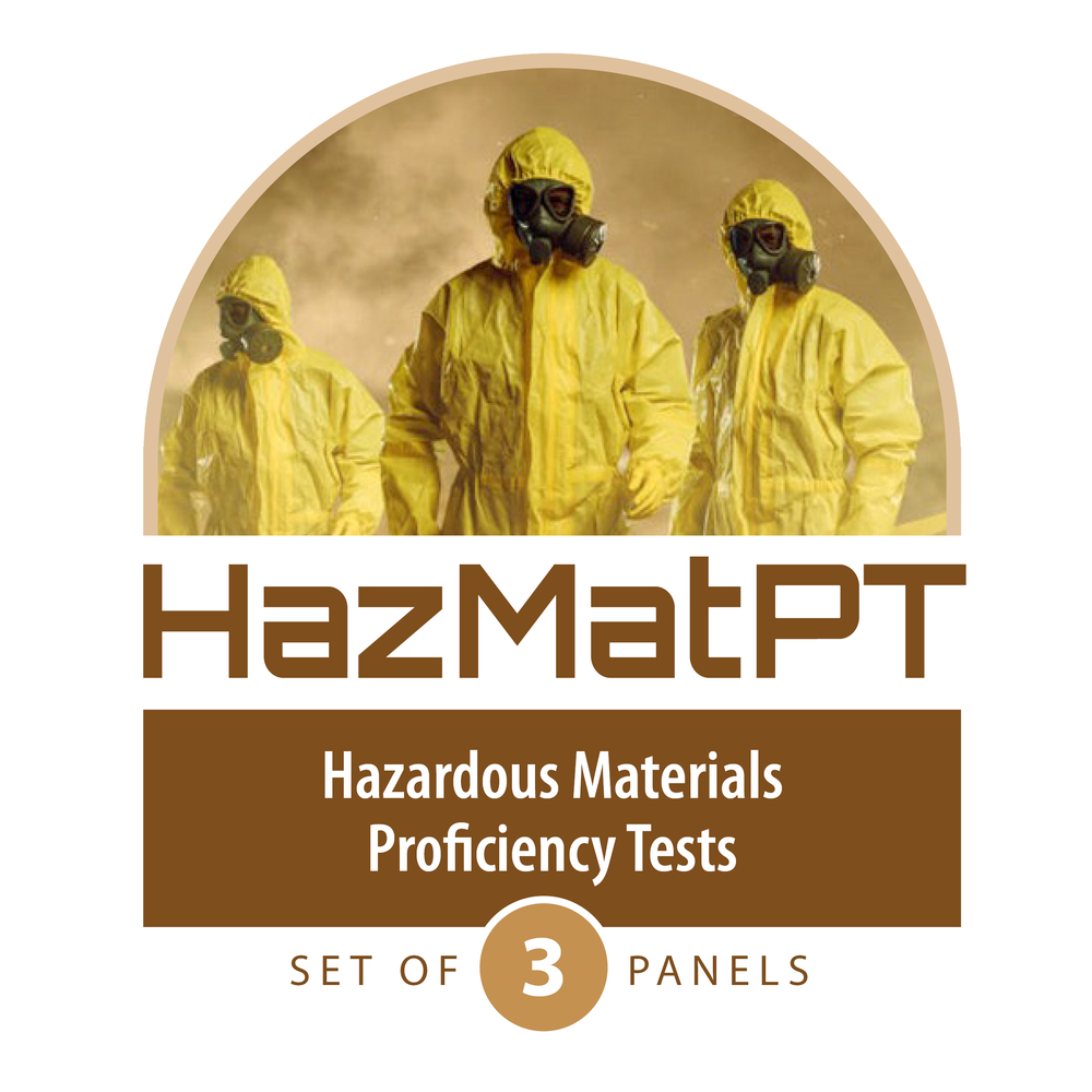 HazMatPT: Current Test Panels – Set of Three