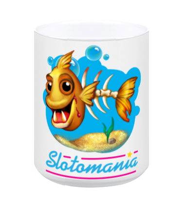 Zombie Goldfish Ceramic Mug - White